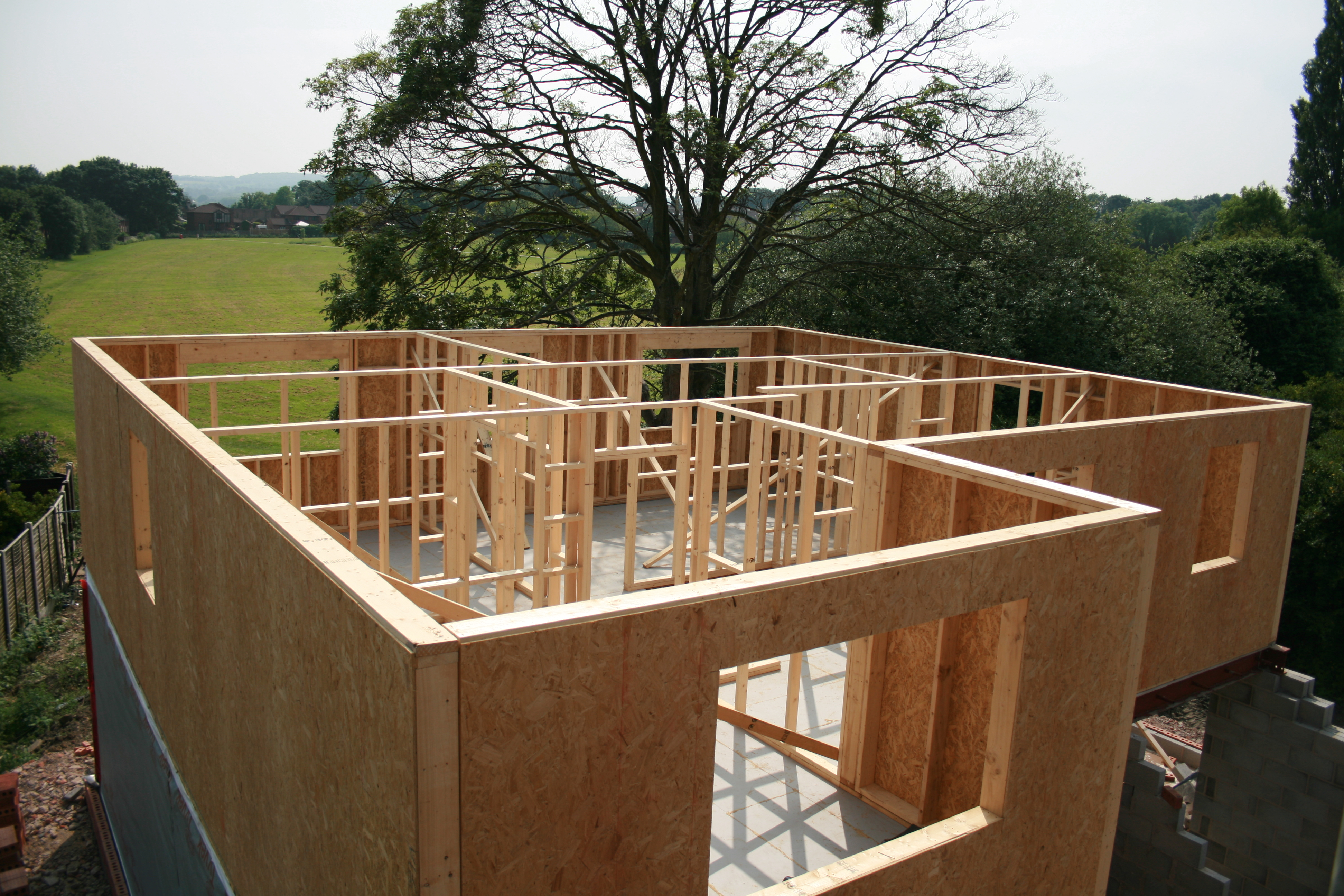 Timber Frame Aston Developments House Builders